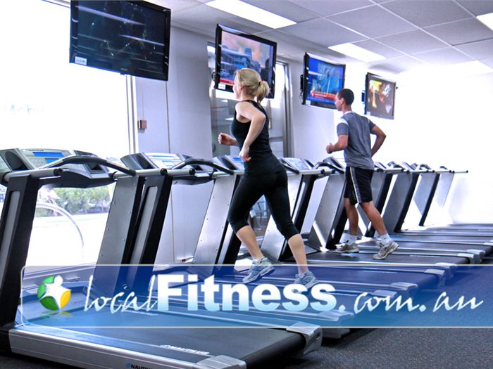 Niddrie Health Club Near Gowanbrae Tune into your favorite TV shows while you train.