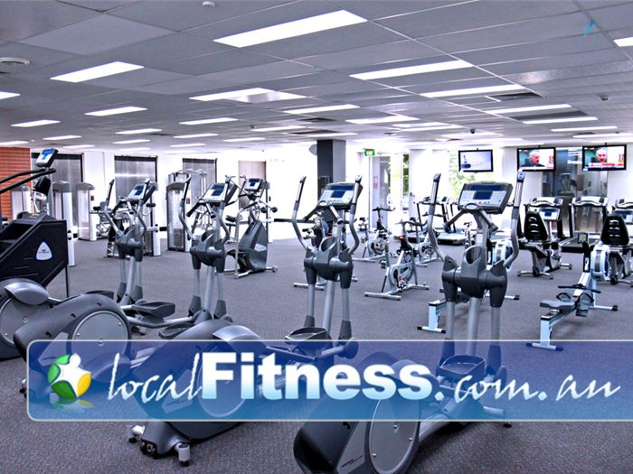 Niddrie Health Club Niddrie Multiple machines so you never have to wait.