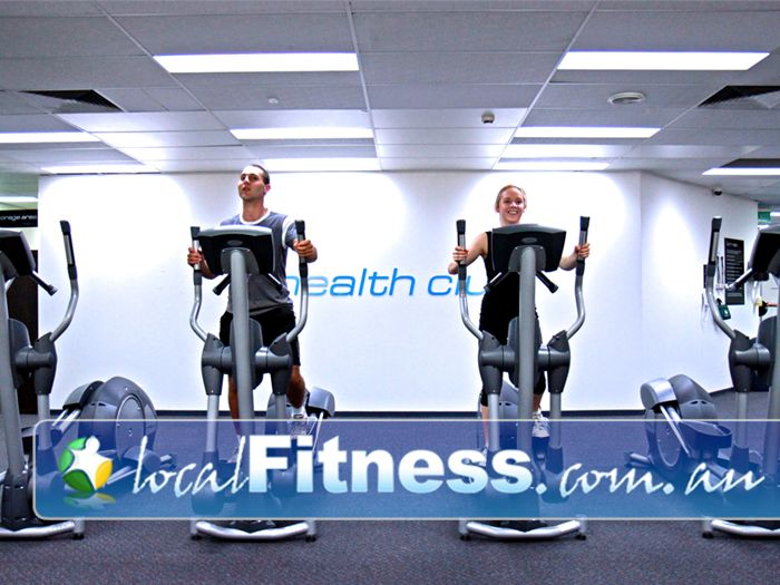 Niddrie Health Club Near Tullamarine Vary your cardio training with treadmills, cross trainers and more!