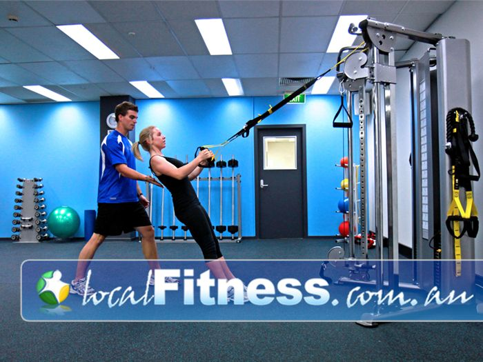 Niddrie Health Club Near Gowanbrae Our Niddrie personal trainers incorporate innovative training including TRX.