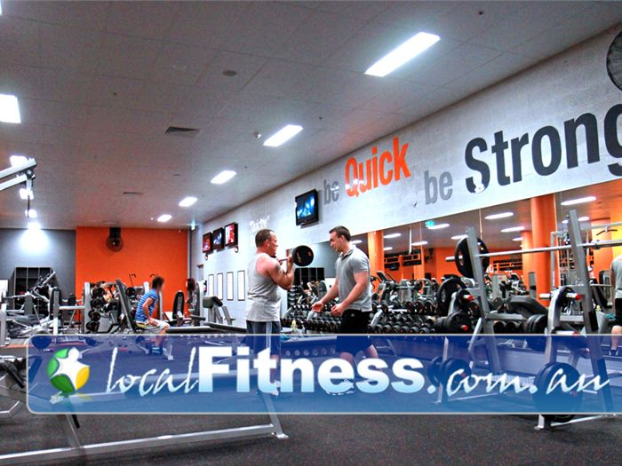 Fit n Fast Charlestown Our Charlestown gym inlcudes a wide selection of dumbbells and barbells.