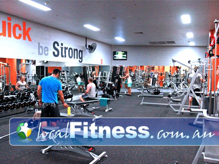 Fit n Fast Near Gateshead Capped at 30 kg to cater for the average Charlestown gym member.