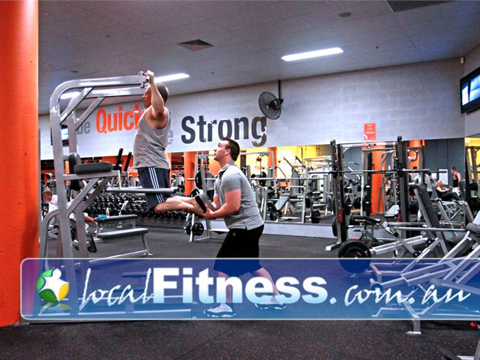Fit n Fast Near Hillsborough Our Charlestown gym includes a full range of free-weights equipment.