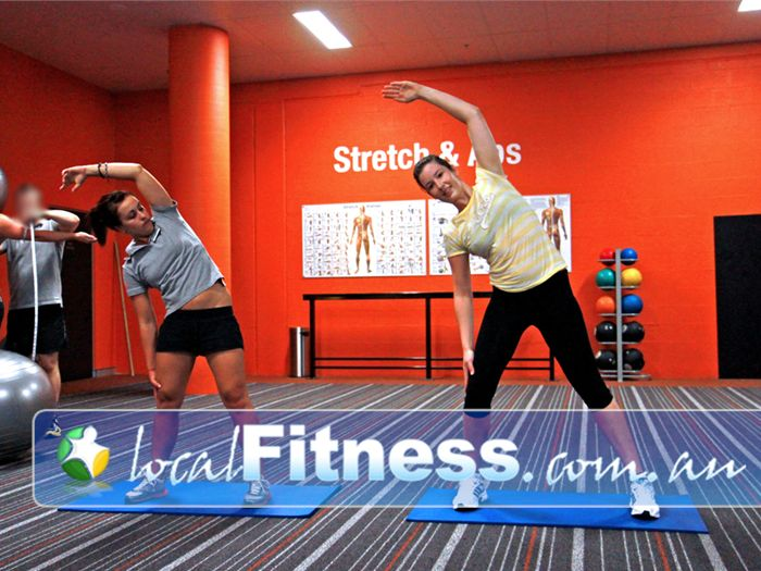 Fit n Fast Charlestown Incorporate stretching and ab work into your QUICKIE workout.