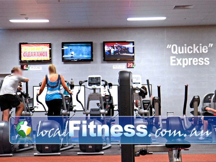 Fit n Fast Charlestown 2 lots of 8 minute cardio stations is part of our QUICKIE Express workout.