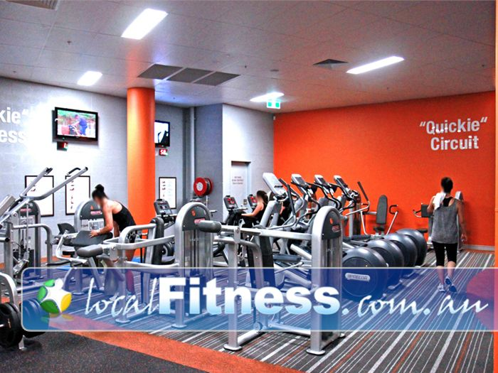 Fit n Fast Near Hillsborough Both cardiovascular and resistance options in our QUICKIE Express workout.
