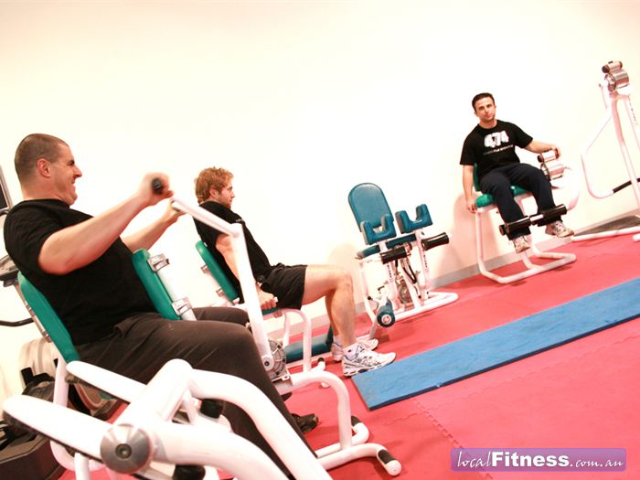 Fitness474 Richmond Use our circuit equipment for a time efficient and effective workout.