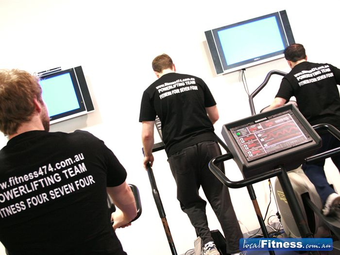 Fitness474 Richmond A personal touch. No crowds, cardio and the television will make you feel like your working out at home.