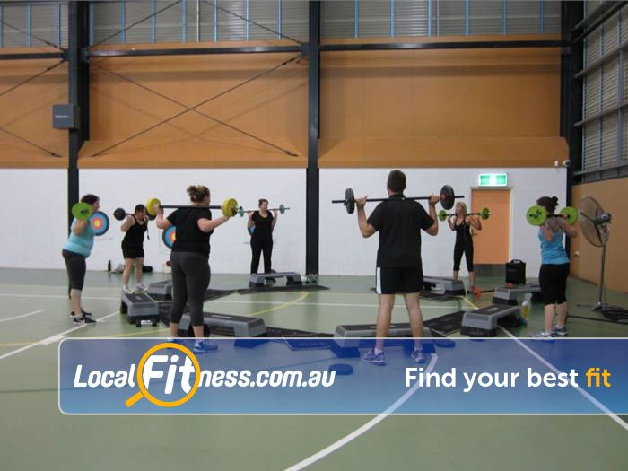 Fernvale Indoor Sports Centre Gym Fernvale  | Fernvale group fitness helps make fitness a social