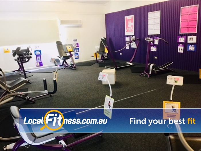 Curves Gym Belgrave  | The famous Belgrave Curves circuit with hydraulic resistance