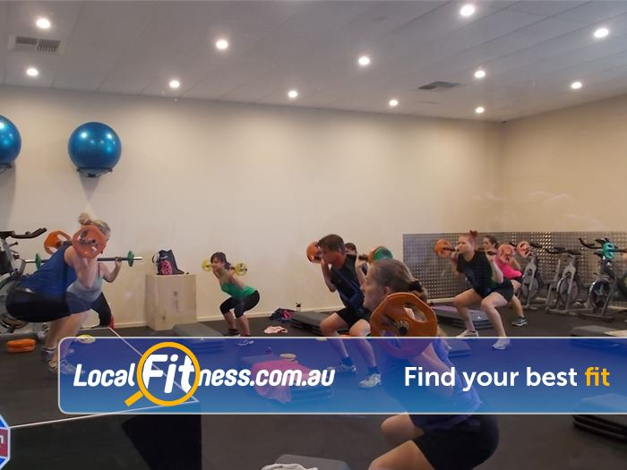 BodySmith Fitness Noarlunga Centre Over 23 classes inc. Barbell, Pilates, Boxing and more.