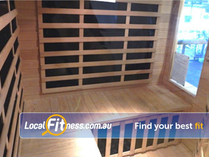 BodySmith Fitness Near Seaford Detox with our infrared sauna.