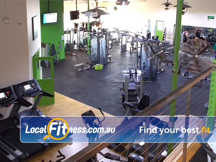 BodySmith Fitness Near Seaford Heights Our 2 level gym facility in Noarlunga.