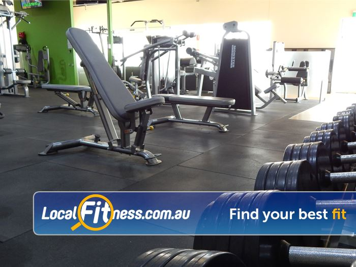 BodySmith Fitness Near Seaford Meadows Our Noarlunga gym is fully equipped fro strength.