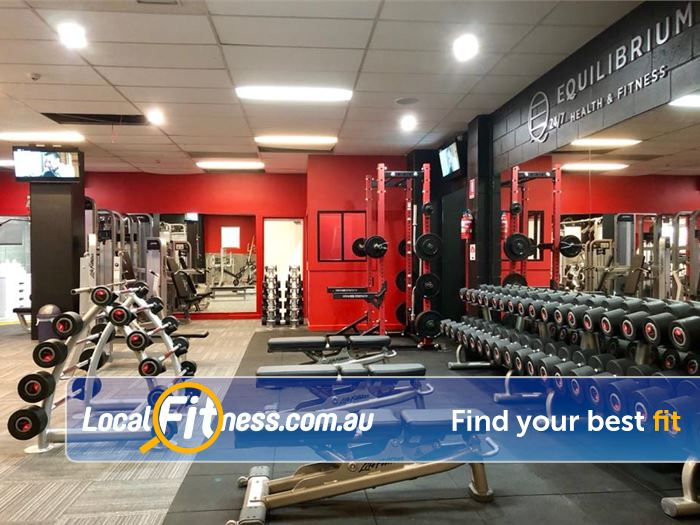 Equilibrium Health & Fitness Templestowe Welcome to our new Equilibrium 24/7 Templestowe Gym