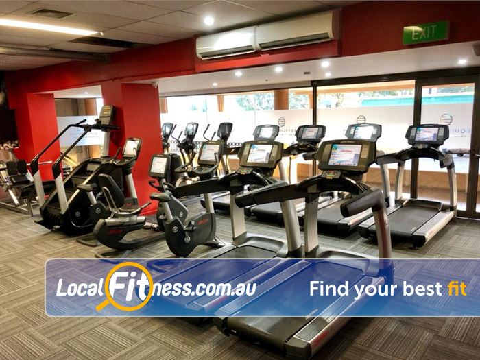 Equilibrium Health & Fitness Templestowe Our Templestowe 24/7 Gym includes state of the art cardio machines