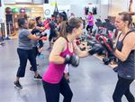 Our Berwick women's boxing classes is popular with
