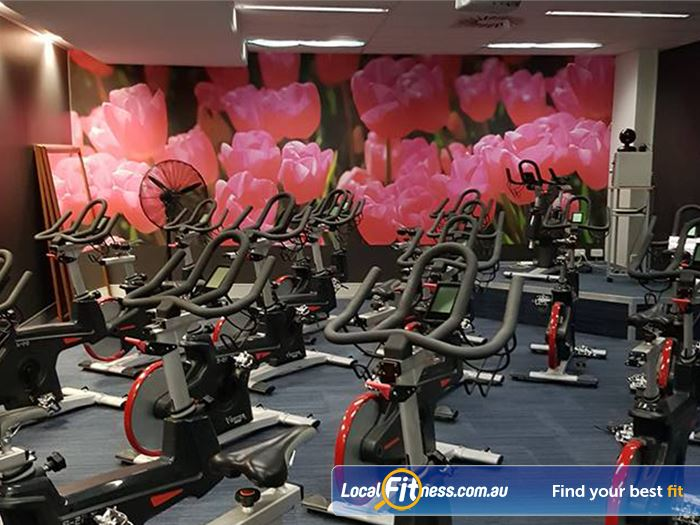 Fernwood Fitness Woden Ladies Gym Fitness Dedicated spin cycle studio in