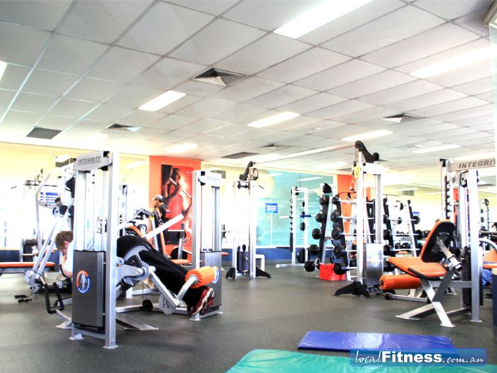 Waves Leisure Centre Swimming Pool Waverley Park  | The spacious Highett gym floor.