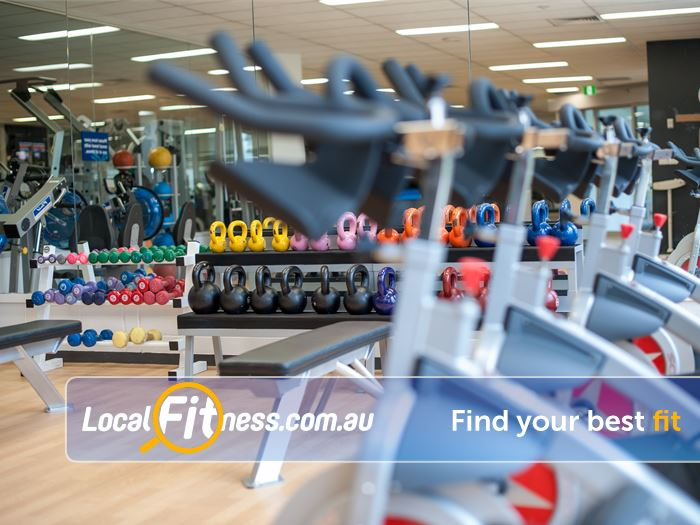 Waves Leisure Centre Gym Hampton  | Get strong with free-weights and kettle bell functional