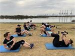 Newport group personal training in a fun, social