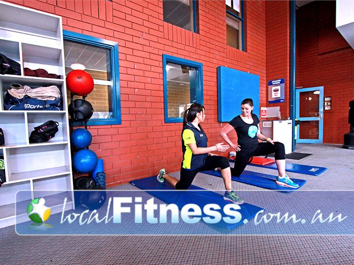 Craigieburn Leisure Centre Kalkallo Gym Fitness A dedicated abs and stretch