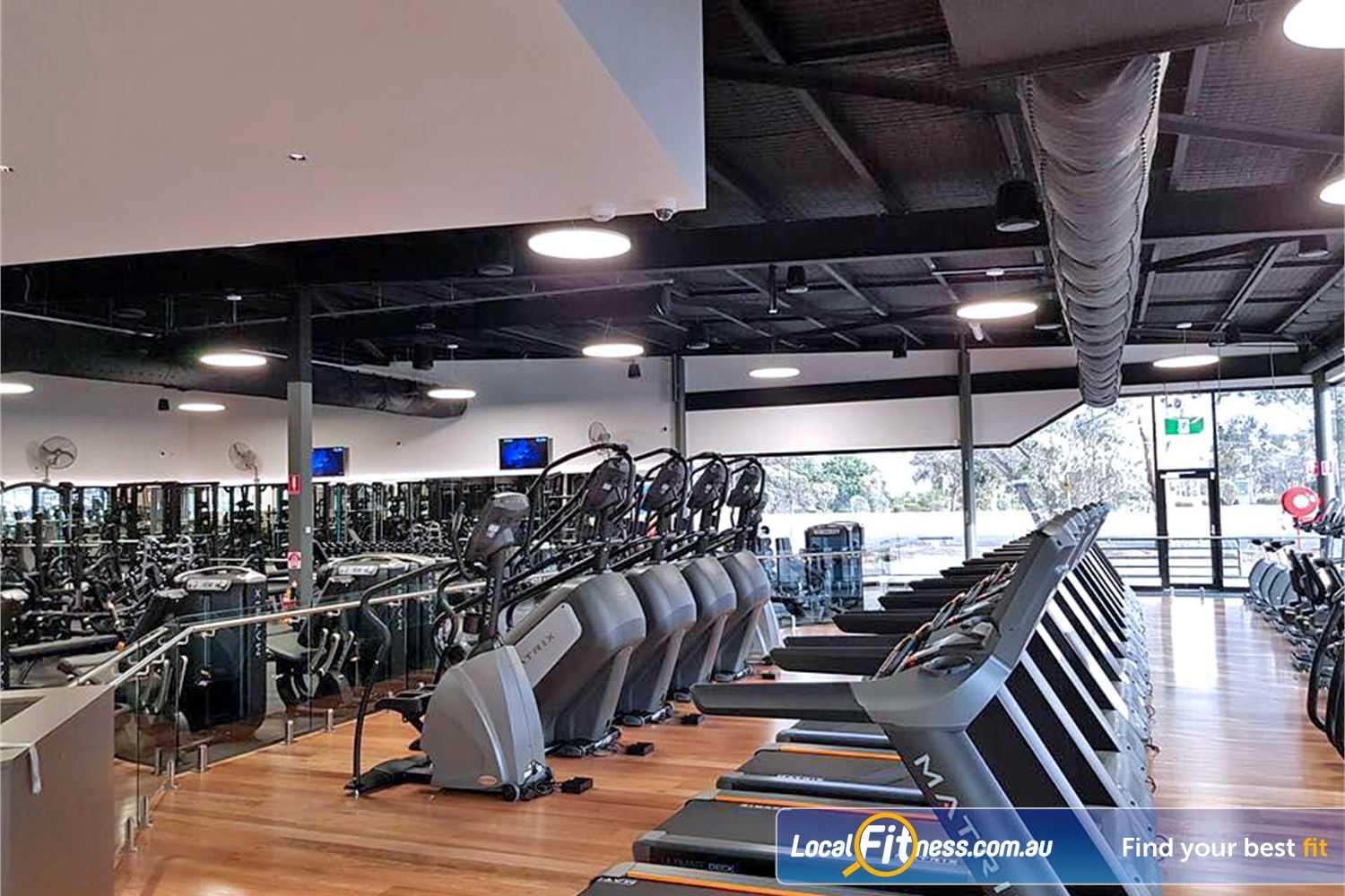 Goodlife Health Clubs Noarlunga Centre Enjoy your favorite shows in our high tech cardio area.