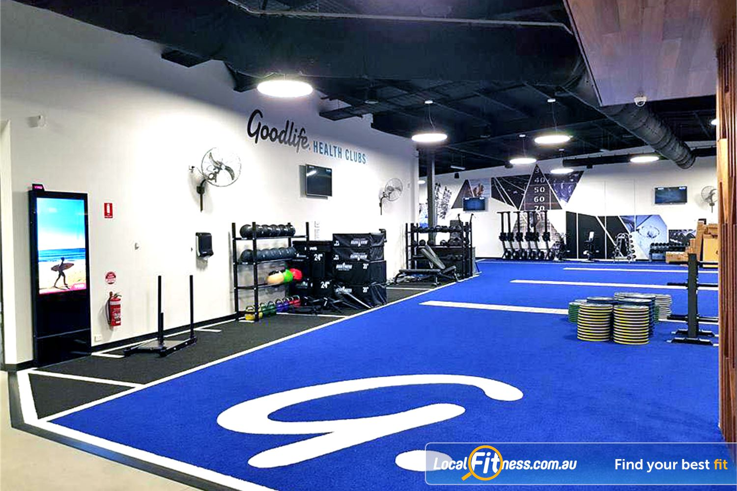 Goodlife Health Clubs Near Seaford Heights Get into functional training in our Noarlunga HIIT gym.