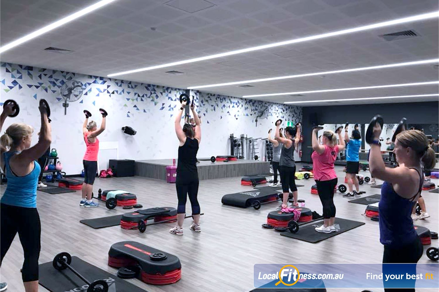 Goodlife Health Clubs Near Seaford The dedicated group fitness studio with over 60 clases per week.