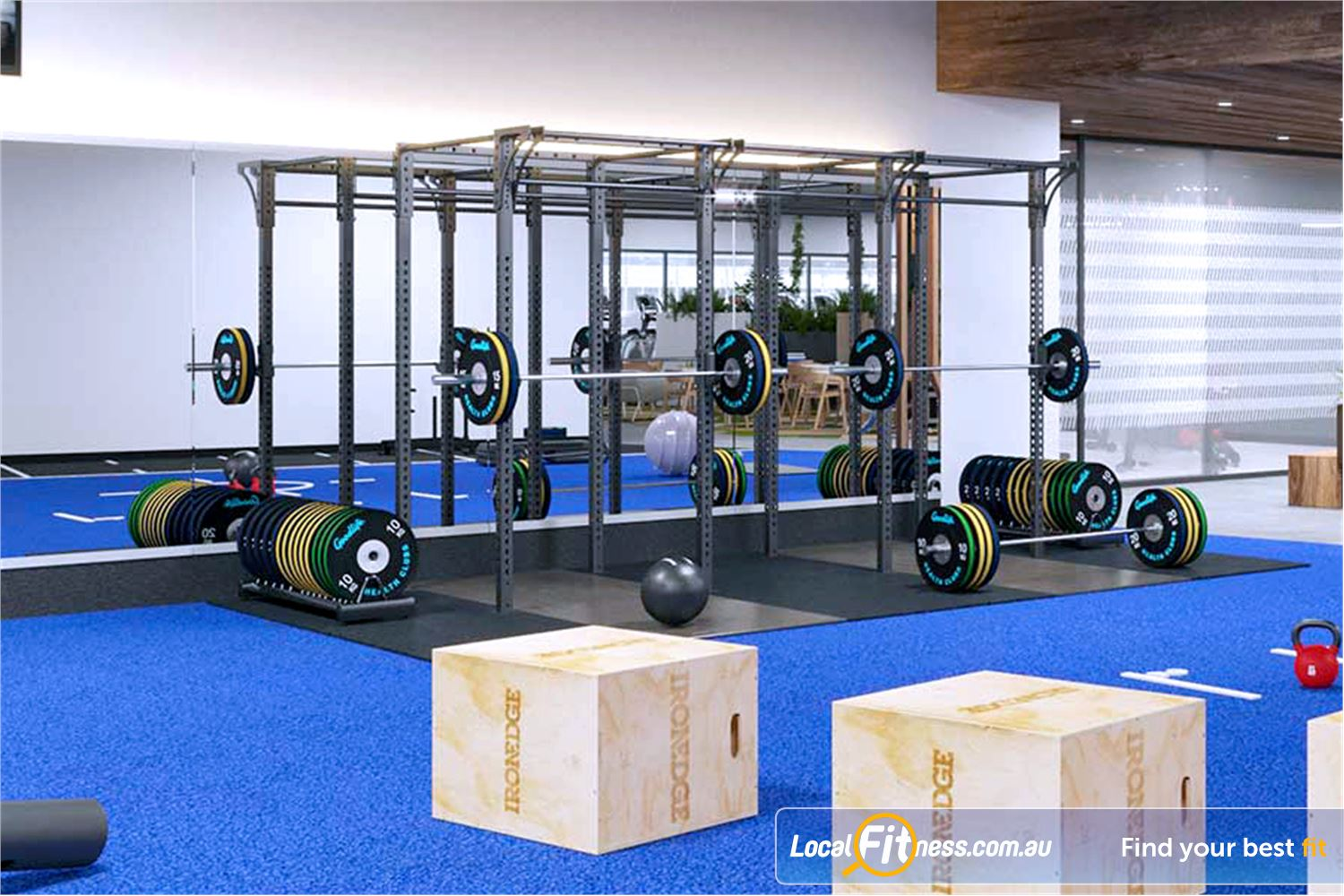 Goodlife Health Clubs Near Seaford Heights Noarlunga personal trainers can get you into plyometric training.