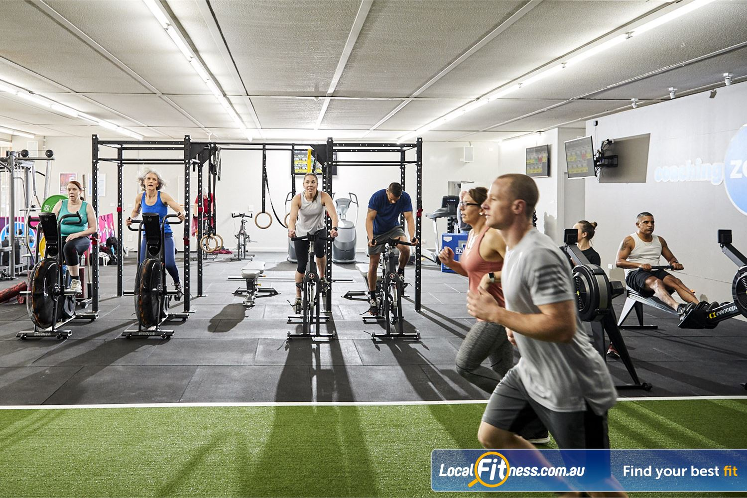 Coaching Zone Ferntree Gully Welcome to the Coaching Zone Ferntree Gully - Group Training specialists.