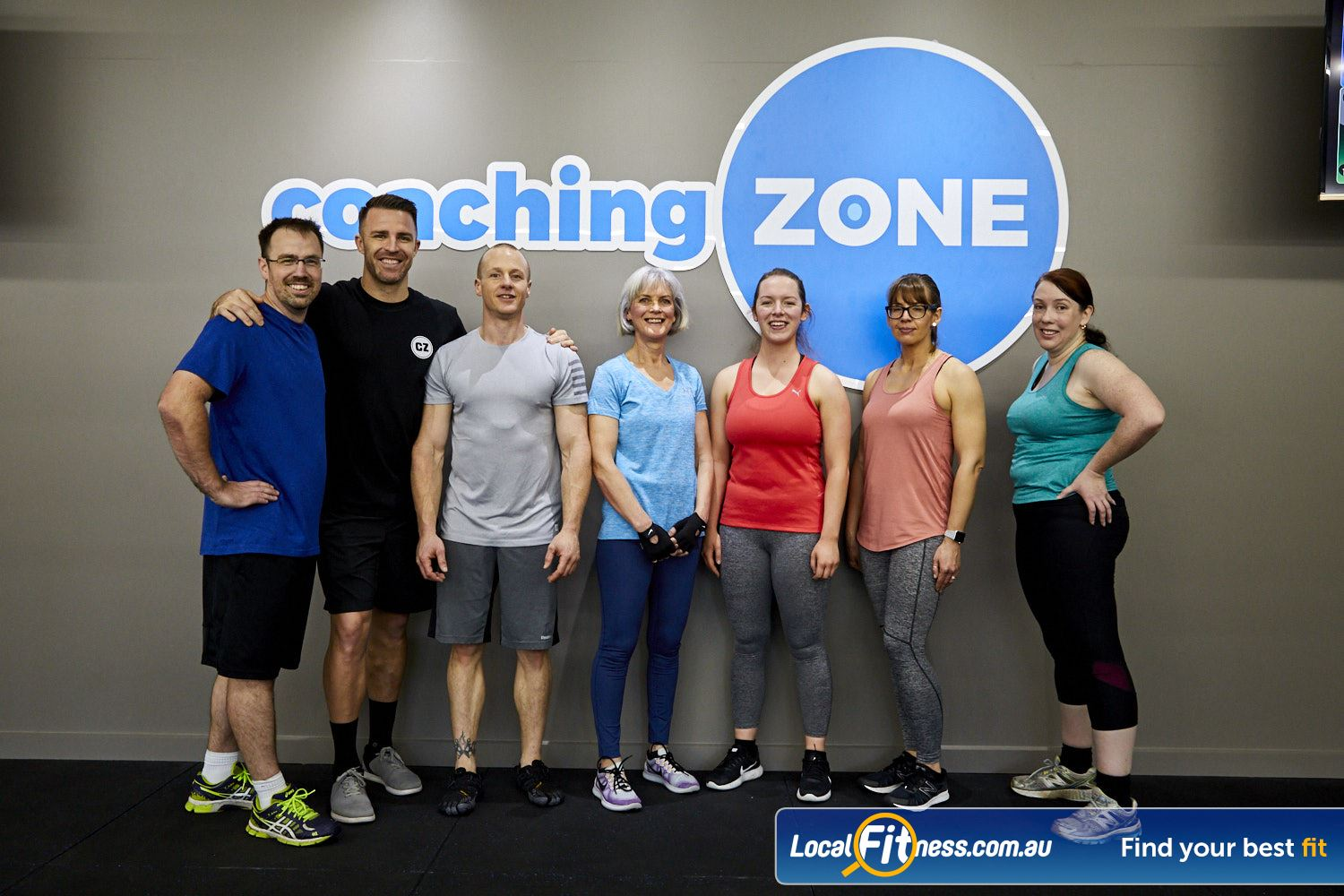 Coaching Zone Near Knoxfield Our Ferntree Gully gym classes cater for all ages and abilities.