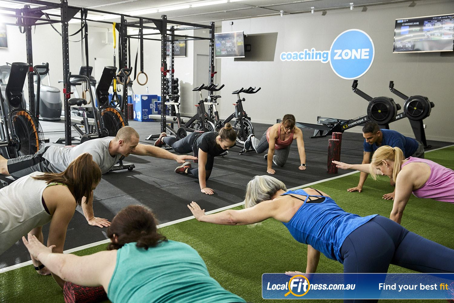 Coaching Zone Near Tremont Structured warm-ups to help prevent injuries.