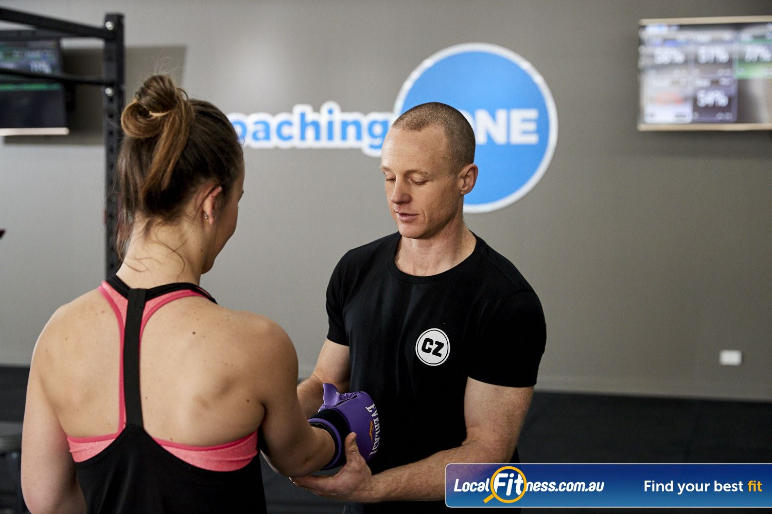 Coaching Zone Near Tremont Our classes combine training and coaching to maximise results.
