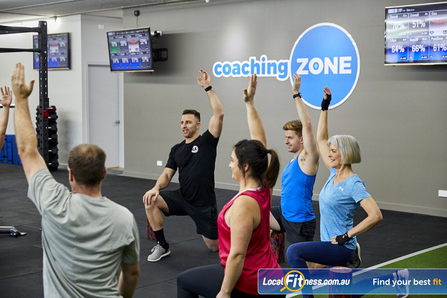 Coaching Zone Ferntree Gully Our workouts are complete including warm-ups, intense workouts and reviews.