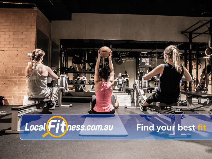 12 Round Fitness Doreen Functional strength training in a HIIT format.
