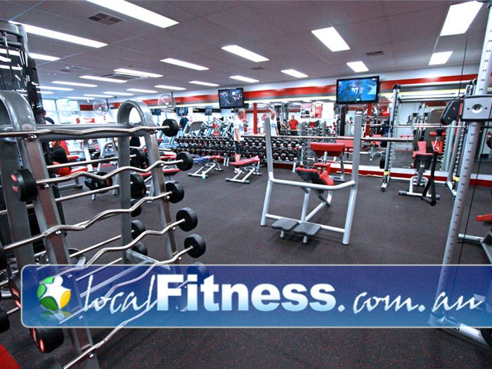 Snap Fitness Gym Sherbrooke  | Our 24 hour Berwick gym is fully equipped