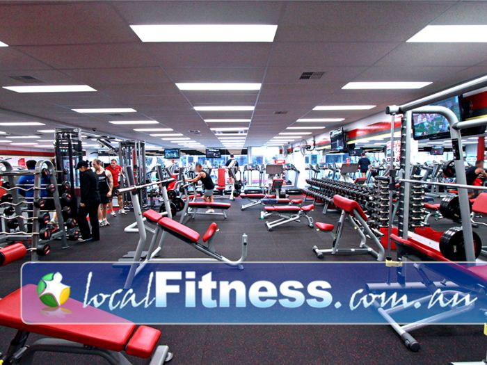 Snap Fitness Gym Belgrave  | Our Berwick gym provides a spacious state of