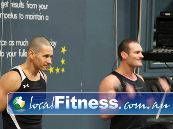 Paramount Health & Fitness Club Gym Kensington  | Class instructors will take your through a high