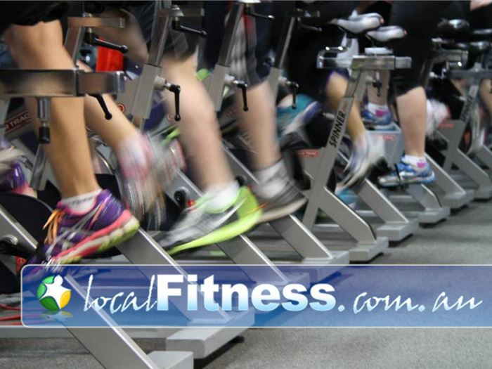 Paramount Health & Fitness Club Near Moonee Ponds High intensity Ascot Vale spin cycle classes.
