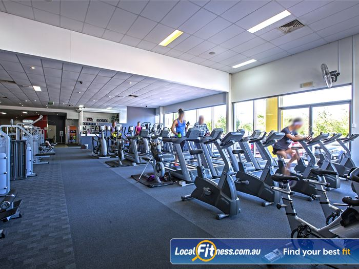 MyFitness Club Gym Caloundra  | The state of the art cardio area in
