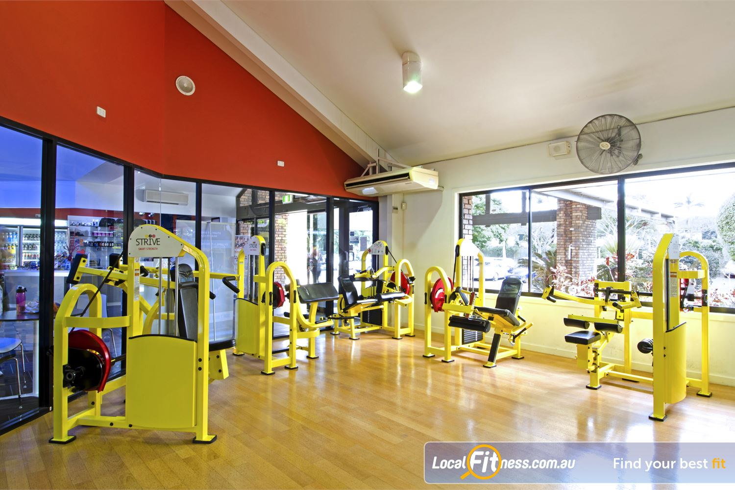 Goodlife Health Clubs Carseldine Our Carseldine gym includes the innovative 1-2-3 Strive strength series.