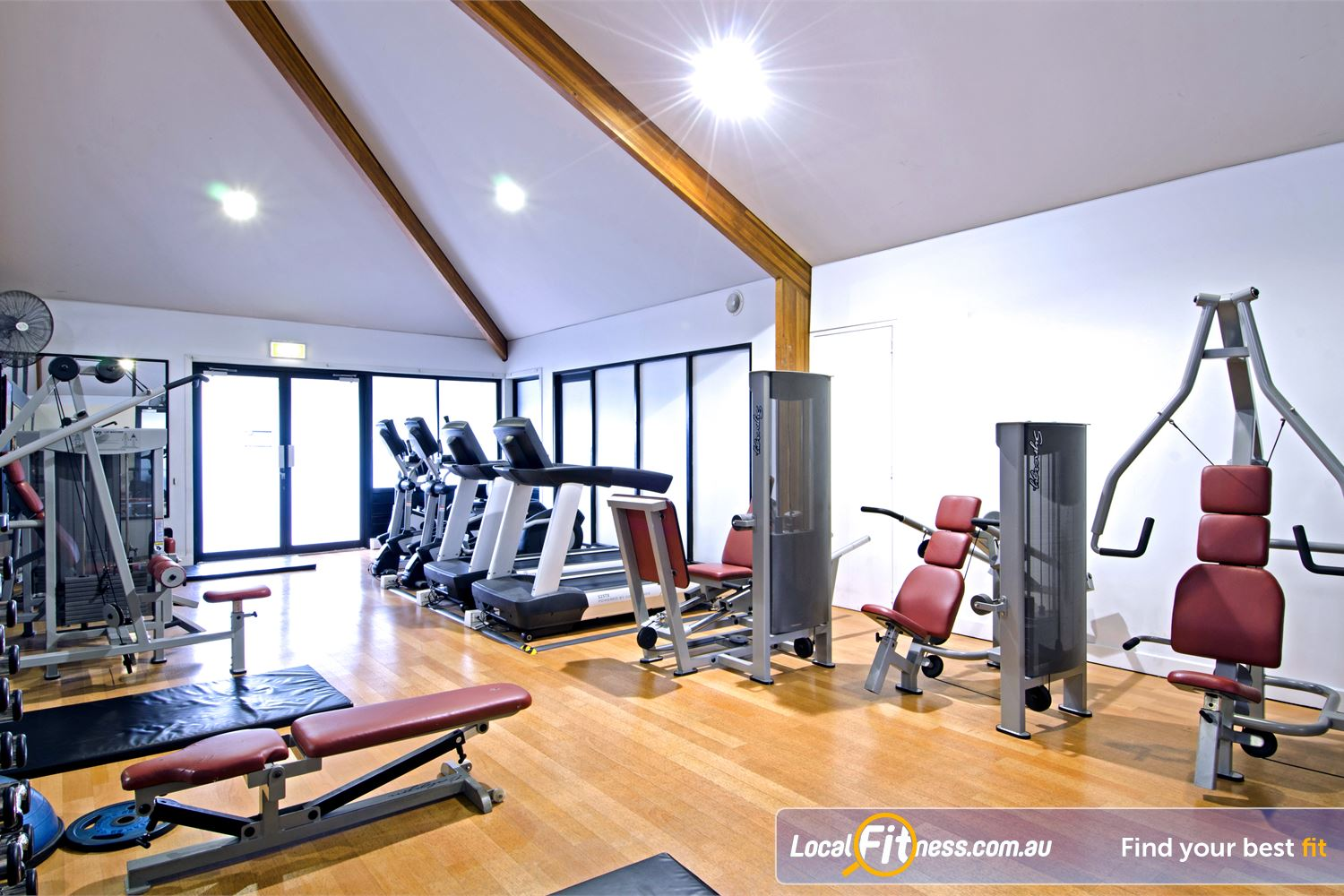 Goodlife Health Clubs Near Zillmere Wide selection of pin-loaded equipment.