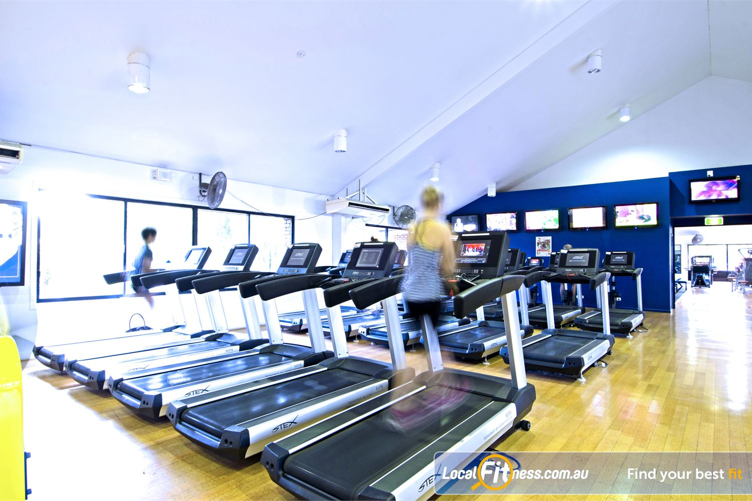 Goodlife Health Clubs Near Albany Creek Our Carseldine gym provides a comprehensive cardio environment.