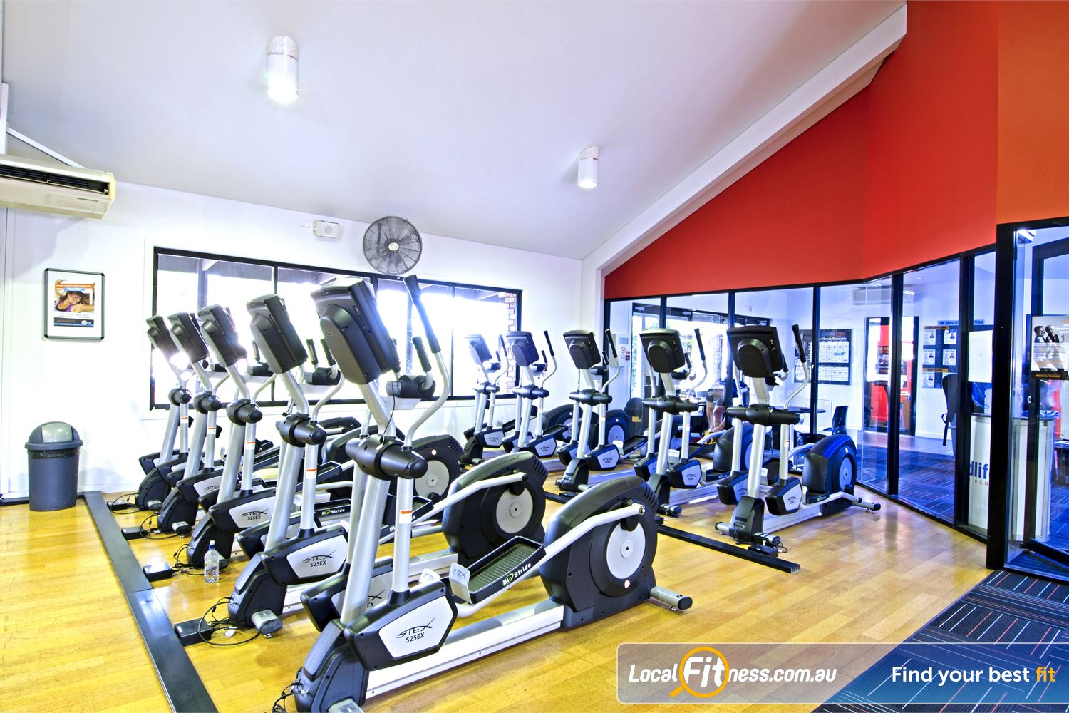 Goodlife Health Clubs Carseldine Goodlife Carseldine gym provides multiple machines so you don't have to wait.
