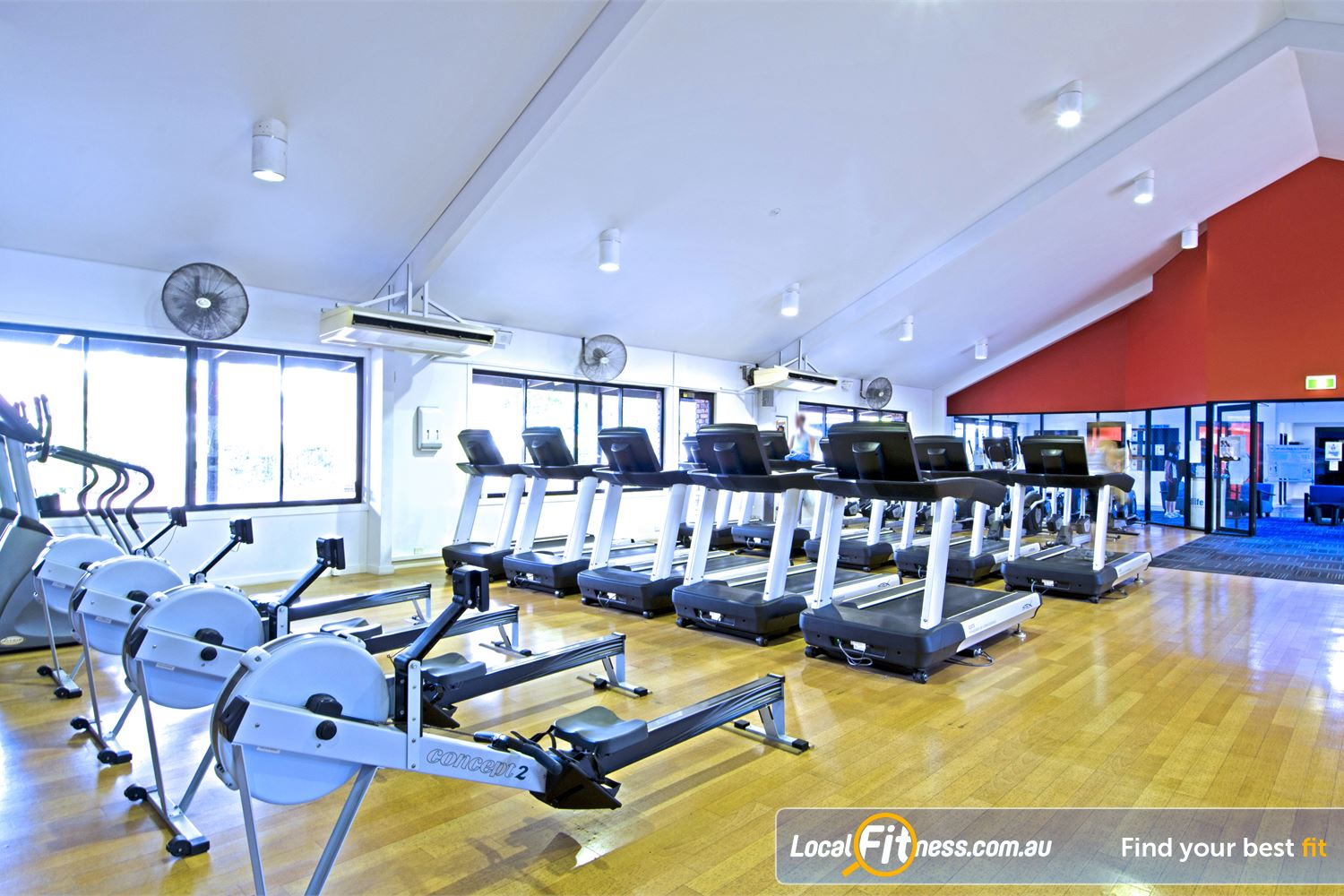 Goodlife Health Clubs Carseldine Tune into your favourite shows on your personalised LCD screen or cardio theatre.