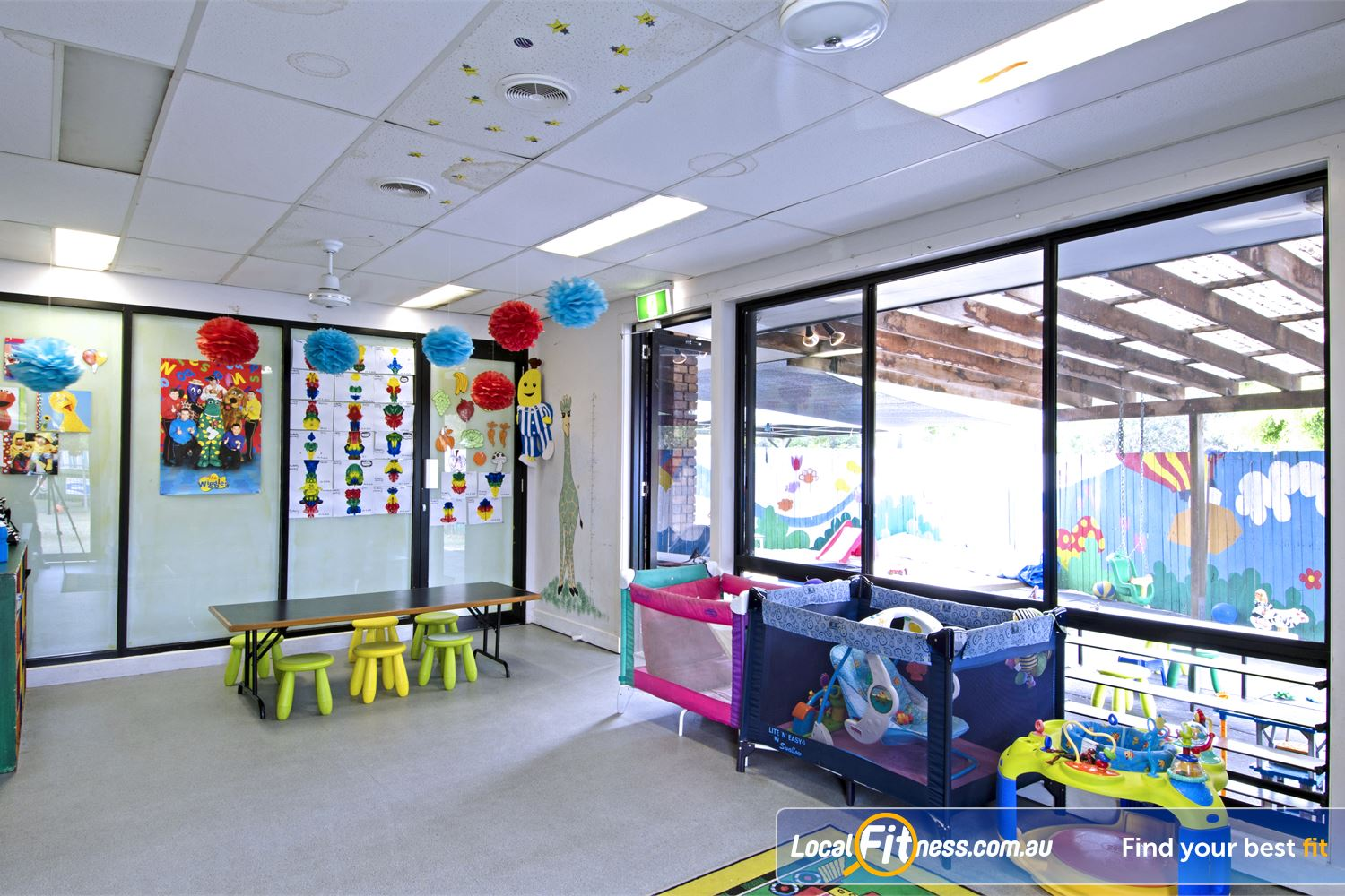Goodlife Health Clubs Carseldine Complete peace of mind, you children will enjoy our indoor and outdoor child care activities.