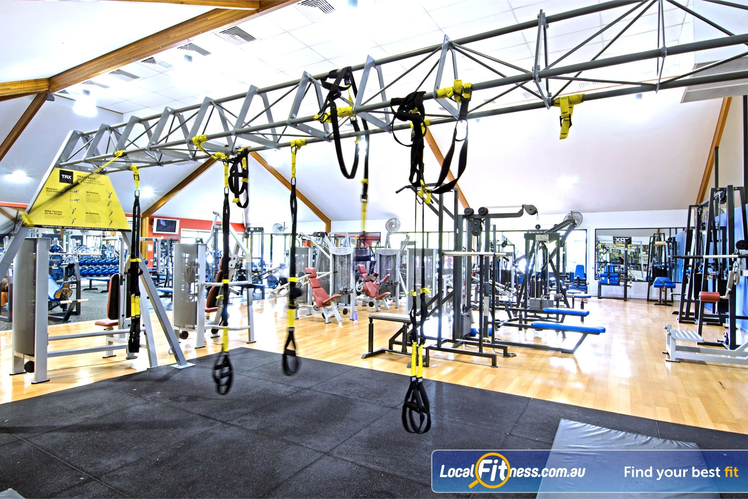 Goodlife Health Clubs Carseldine Incorporate functional training into your workouts.