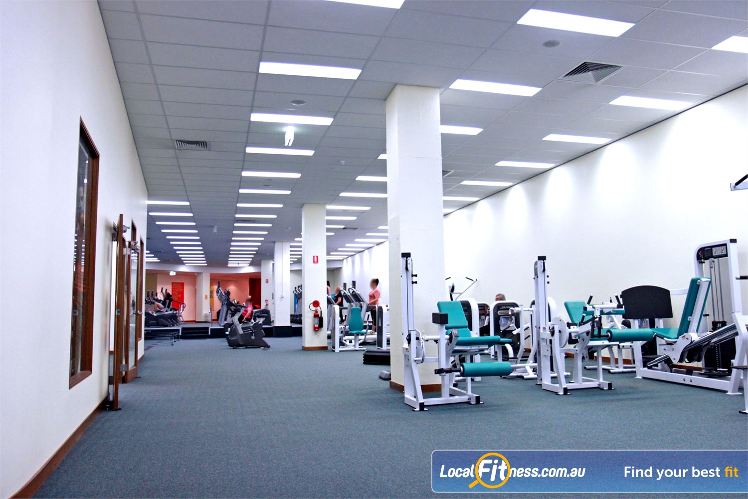 Fernwood Fitness Near Englorie Park We provide the right fitness and weights to help women lose weight.