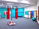 Fernwood Campbelltown gym provides a spacious cardio boxing